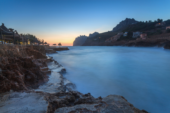 Cala San Vincente Sunrise mural wallpaper