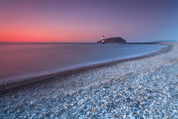 Penmon Sunset wall mural