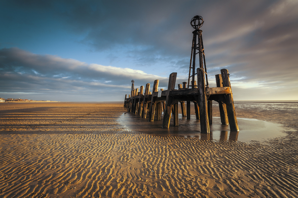 Lytham St Annes Old Jetty wall mural