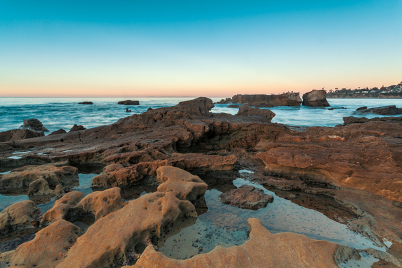 Laguna Beach Rock Pools wallpaper mural