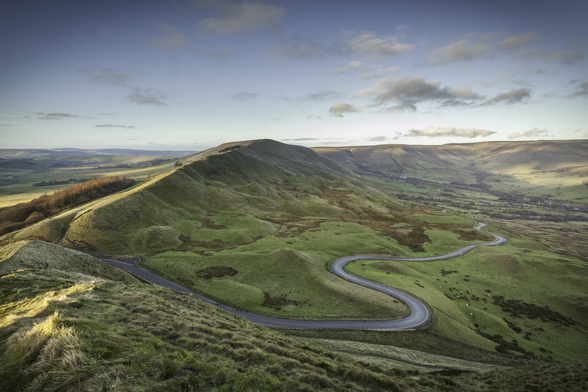 Mam Tor Road mural wallpaper