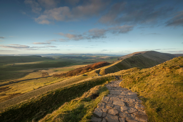 Mam Tor Path wall mural