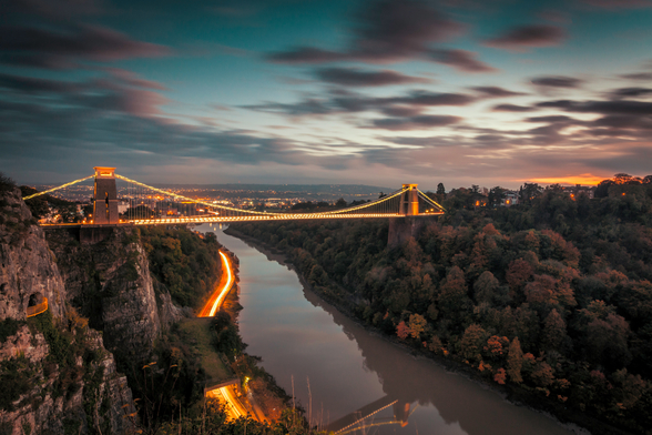 Bristol Clifton Suspension Bridge wall mural