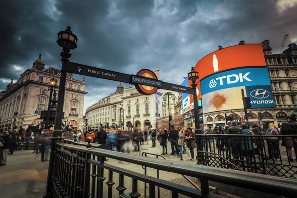 Piccadilly Circus London wallpaper mural