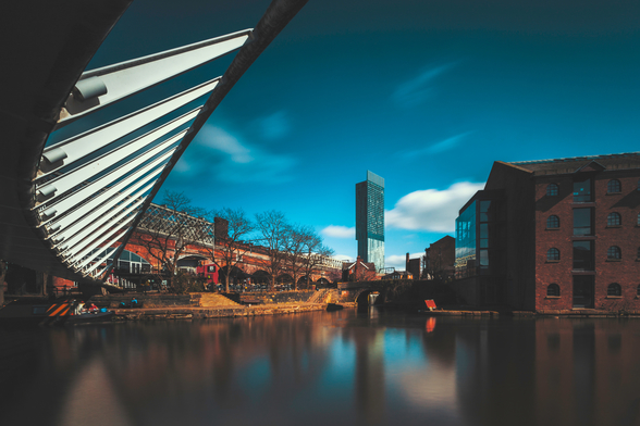 Castlefield Beetham Tower wallpaper mural