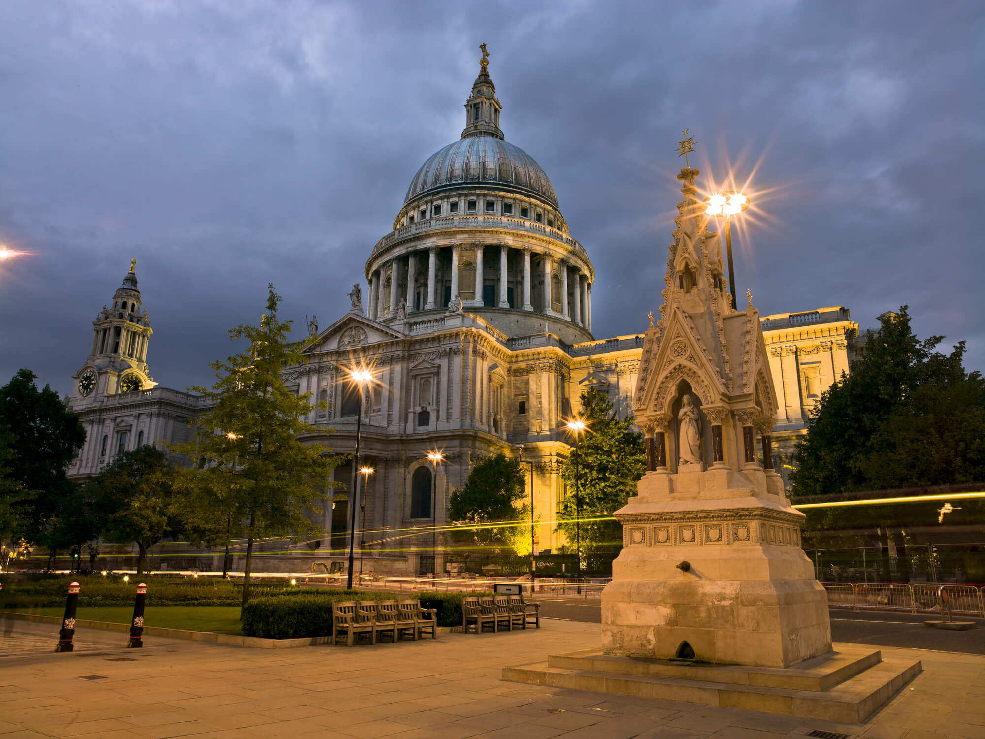 St Paul's Cathedral Night Lights wallpaper mural