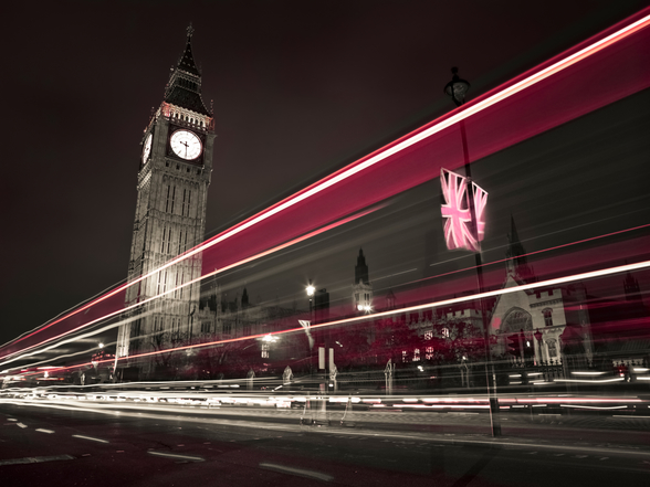 Big Ben at Night wallpaper mural