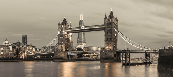 Tower Bridge over River Thames wallpaper mural