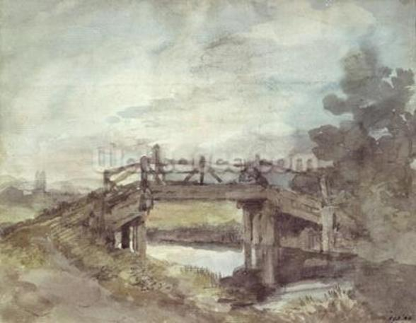 A Bridge over the Stour wallpaper mural