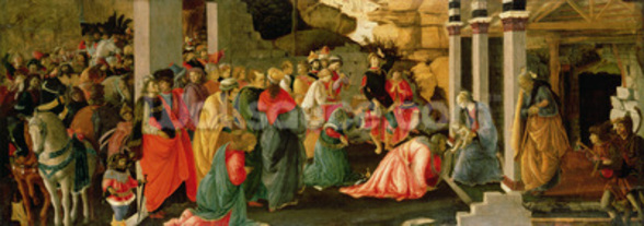 Adoration of the Magi, c.1470 (tempera on panel) wall mural