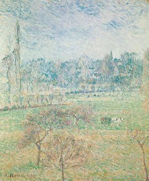 Autumn Morning, 1892 (oil on canvas) wall mural