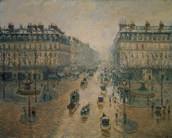 Avenue de LOpera, Paris, 1898 wall mural