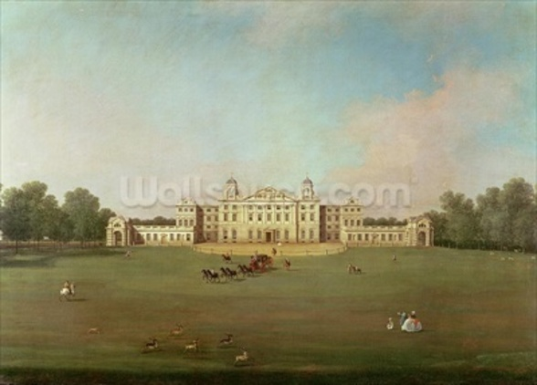Badminton House, Gloucestershire wall mural