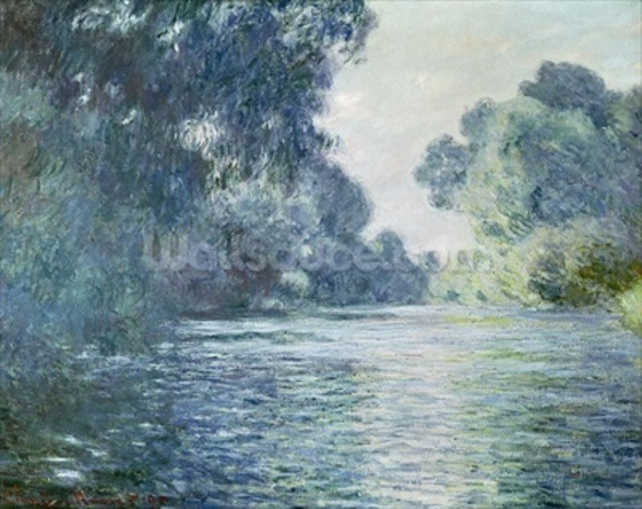 Branch of the Seine near Giverny, 1897 (oil on canvas) wall mural