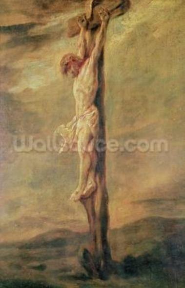 Christ on the Cross, c.1646 (oil on canvas) wall mural