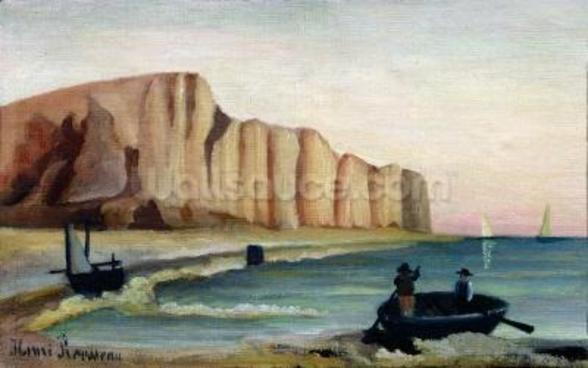 Cliffs, c.1897 (oil on canvas) wall mural
