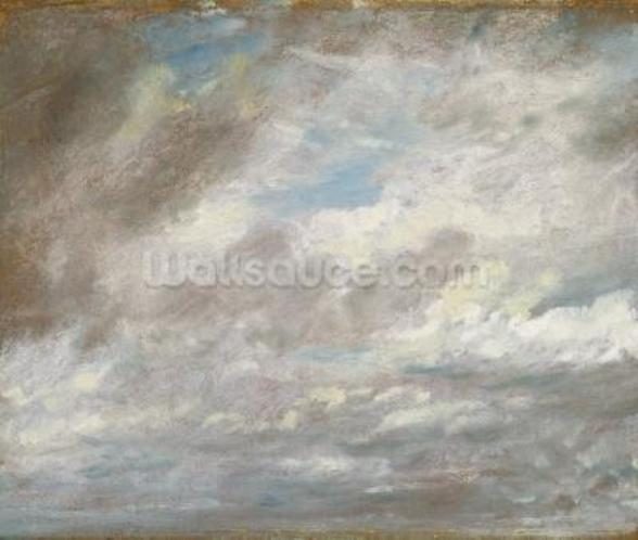 Cloud Study, c.1821 (oil on paper laid on card) wall mural