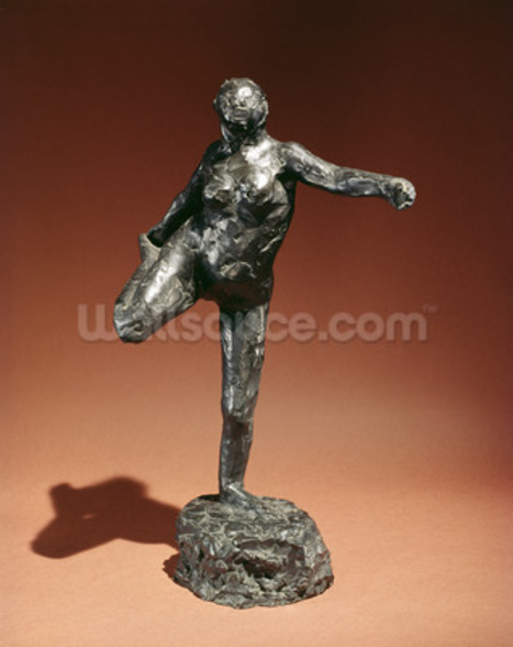 Dancer (bronze) wall mural