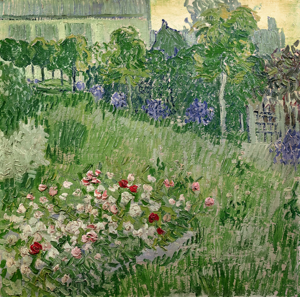 Daubignys garden, 1890 (oil on canvas) mural wallpaper