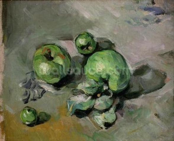 Green Apples, c.1872-73 (oil on canvas) wall mural