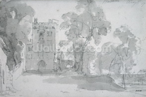 Haddon Hall wallpaper mural