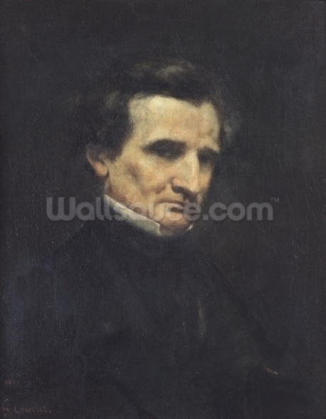 Hector Berlioz (1803-69) 1850 (oil on canvas) wall mural