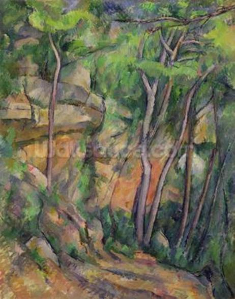 In the Park of Chateau Noir, c.1896-99 (oil on canvas) wall mural