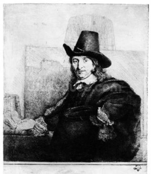 Jan Asselyn, c.1647 (etching) wall mural