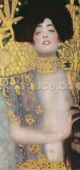 Judith, 1901 (oil on canvas) wallpaper mural