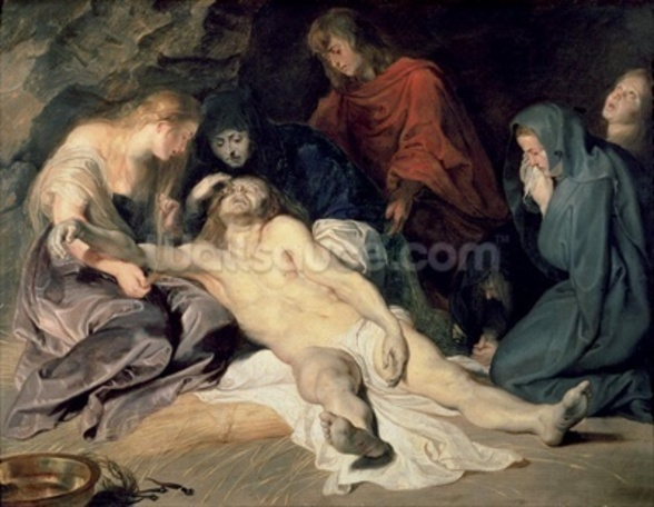 Lament of Christ, 1614 (panel) wall mural