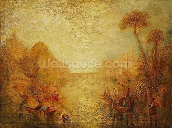 Landscape (oil on canvas) mural wallpaper