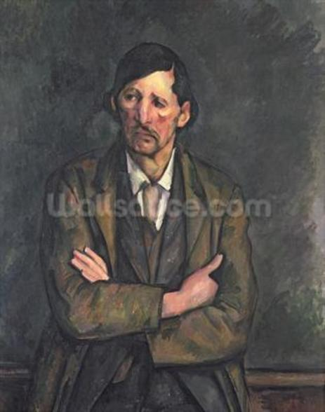 Man with Crossed Arms, c.1899 (oil on canvas) wall mural