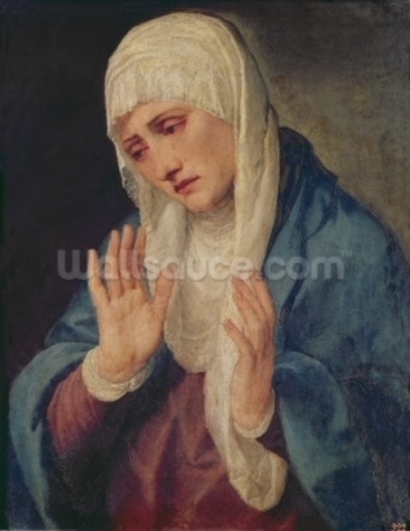 Mater Dolorosa, 1555 (oil on canvas) wall mural