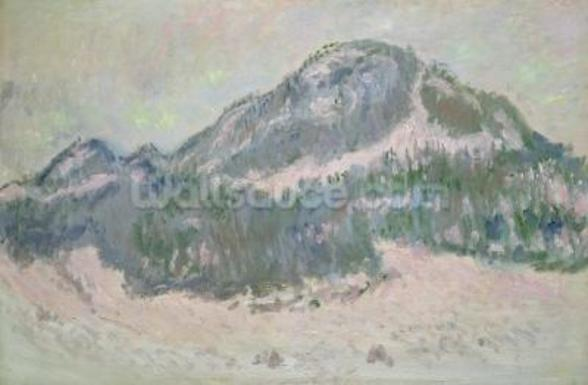 Mount Kolsaas, Norway, 1895 (oil on canvas) wall mural
