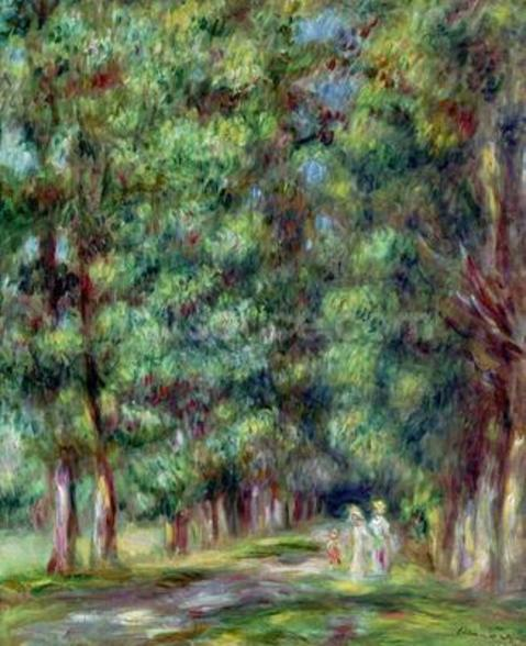 Path in a Wood, 1910 (oil on canvas) wall mural