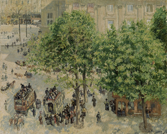 Place du Theatre-Francais, Spring, 1898 wall mural
