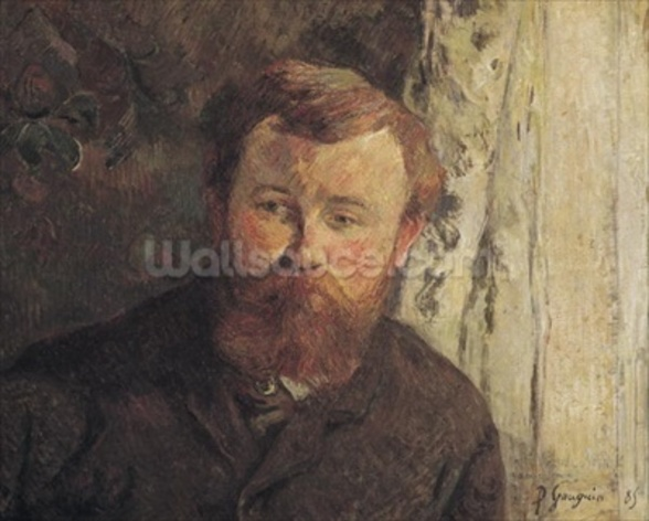 Portrait of Achille Granchi Taylor, 1885 (oil on canvas) mural wallpaper
