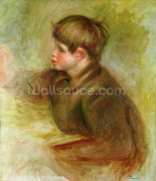 Portrait of Coco painting, c.1910-12 wall mural