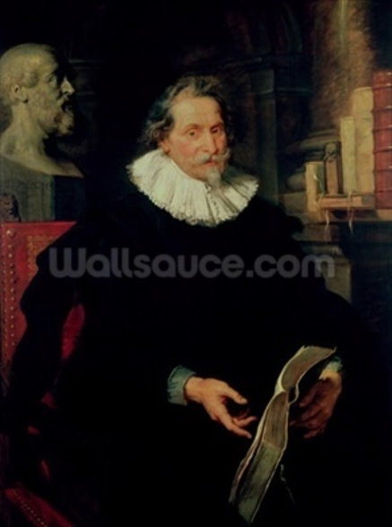 Portrait of Ludovicus Nonnius (c.1553-1645/6) c.1627 (oil on panel) wallpaper mural