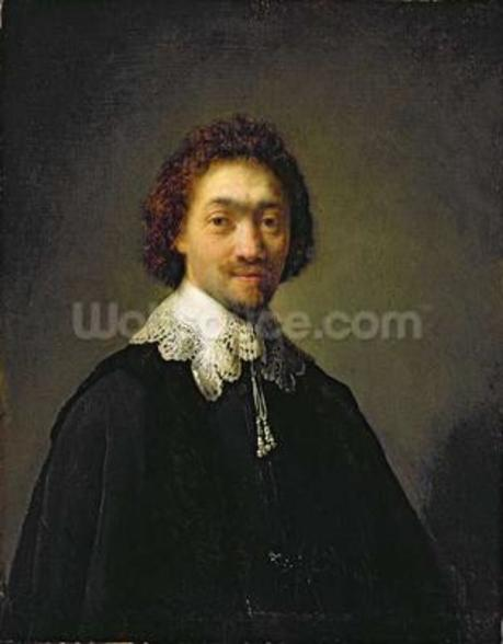 Portrait of Maurits Huygens, 1632 (oil on panel) wall mural
