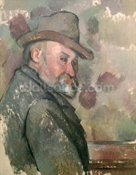 Self Portrait, 1890-94 (oil on canvas) wall mural