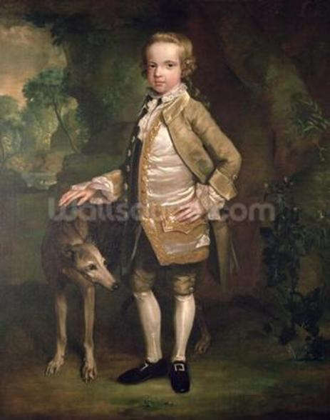Sir John Nelthorpe, 6th Baronet as a Boy wall mural