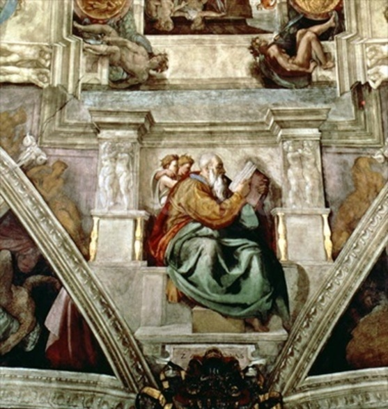 Sistine Chapel Ceiling, 1508-12 mural wallpaper