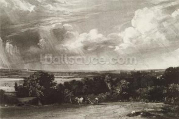 Summerland, engraved by David Lucas (1802-81) (mezzotint) wall mural