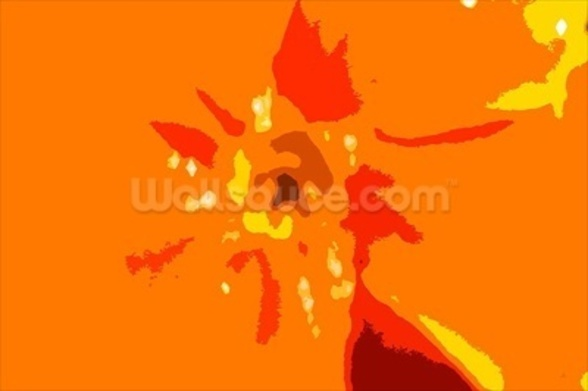 Sunshine Camouflage (colour photo) wallpaper mural