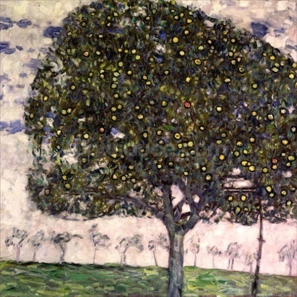 The Apple Tree II, 1916 (oil on canvas) mural wallpaper