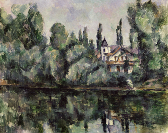 The Banks of the Marne, 1888 (oil on canvas) wall mural