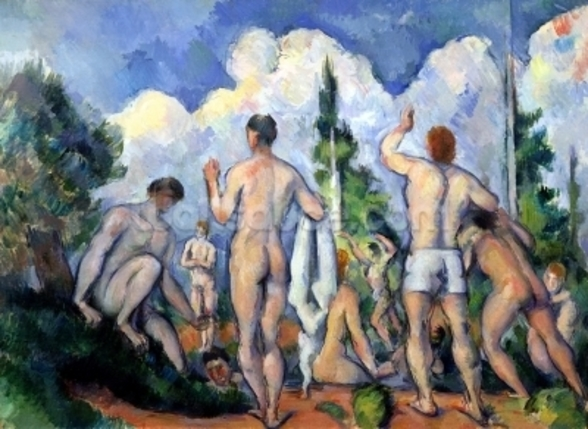 The Bathers, c.1890-92 (oil on canvas) wall mural