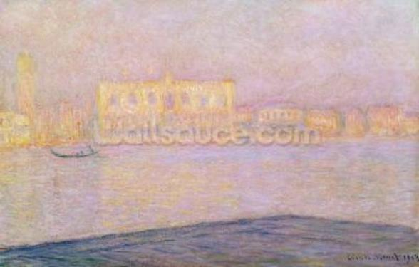 The Ducal Palace from San Giorgio, 1908 (oil on canvas) wall mural