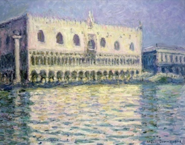 The Ducal Palace, Venice, 1908 wall mural